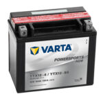 Varta AGM batteri MC YTX12-4 YTX12-BS