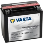 Varta batteri MC YTX20L-4 & YTX20L-BS